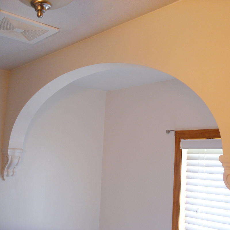 How To Make Drywall Or Sheetrock Arches And Arch Doorways
