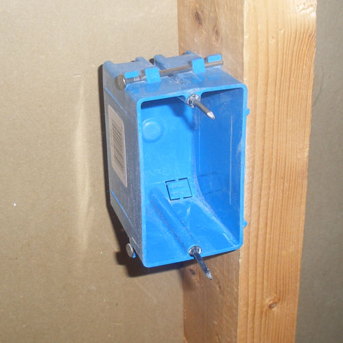 how to cut outlets in drywall